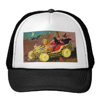 Coche de la sandía de Halloween Gorro De Camionero
