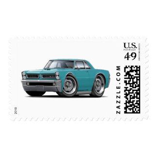 Coche de la turquesa de 1965 GTO Sellos