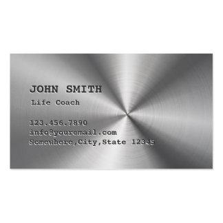 Coche de la vida que aconseja el falso metal tarjetas de visita