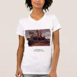 Coche de Malle de las floras por el pote Hendrik Camisetas