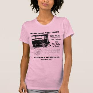 Coche de motor de la inspección de la pista de Fai Camiseta