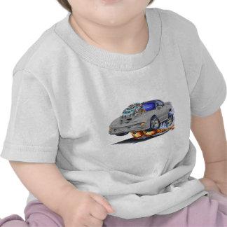 Coche de plata 1998-02 del transporte de Firebird Camisetas