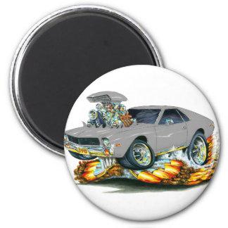 Coche de plata de AMX Imán Para Frigorífico