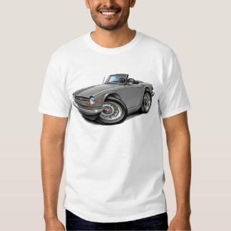 Coche de plata de Triumph TR6 Poleras