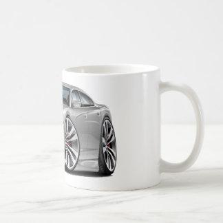 Coche de plata del cargador SRT8 de Dodge Tazas De Café