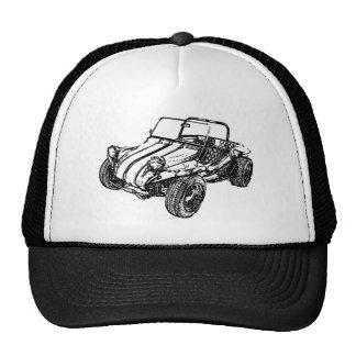 Coche de playa gorras de camionero