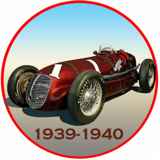 Coche de Shaw Maserati 8CTF Indy Fotoescultura Vertical