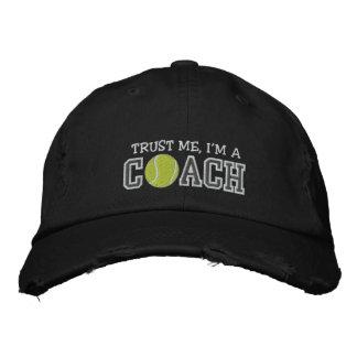 Coche de tenis divertido gorra de beisbol bordada