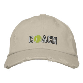 Coche de tenis gorra bordada