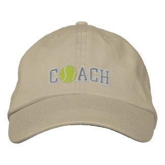 Coche de tenis gorra de béisbol