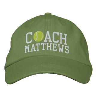 Coche de tenis personalizado gorra de béisbol