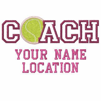 Coche de tenis personalizado su nombre su juego chamarra de deporte bordada