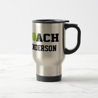 Coche de tenis - personalizado taza de café