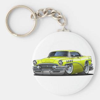 Coche del amarillo del siglo de Buick Llavero Redondo Tipo Pin
