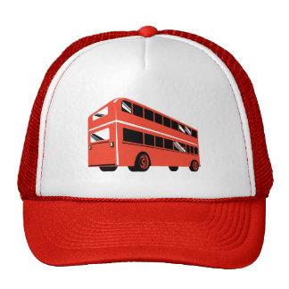 Coche del autobús turístico del autobús de dos pis gorros bordados