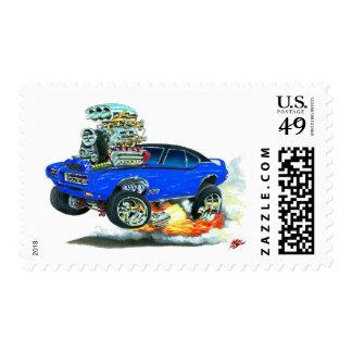 Coche del azul de 1968 GTO Sello