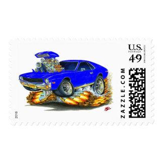 Coche del azul de AMX Sello