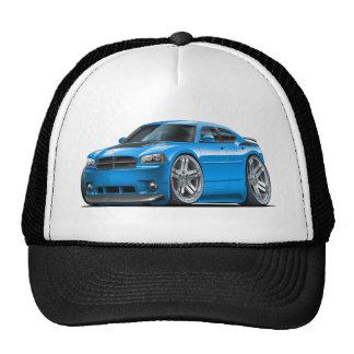 Coche del azul de Daytona del cargador de Dodge Gorras De Camionero