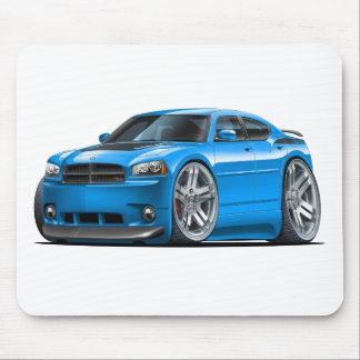 Coche del azul de Daytona del cargador de Dodge Alfombrillas De Raton