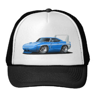 Coche del azul de Dodge Daytona Gorro