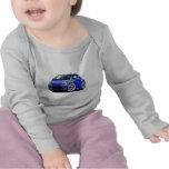 Coche del azul de Fiat 500 Camiseta
