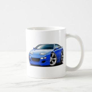 Coche del azul de Nissan 300ZX Tazas