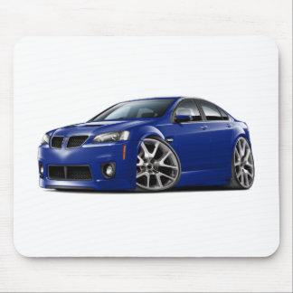 Coche del azul de Pontiac G8 GXP Alfombrillas De Ratón