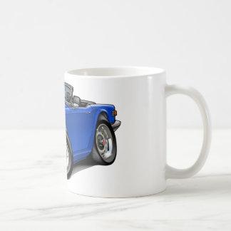 Coche del azul de Triumph TR6 Taza Clásica