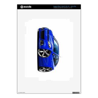 Coche del azul del dardo de Dodge iPad 3 Pegatina Skin