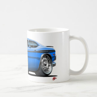Coche del azul del demonio de Dodge Taza Clásica
