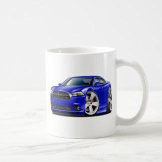 Coche del azul del RT del cargador de Dodge Taza De Café