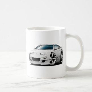 Coche del blanco de Nissan 300ZX Taza De Café