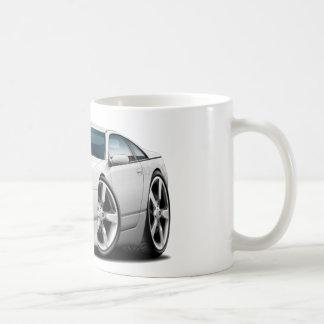 Coche del blanco de Nissan 300ZX Tazas De Café