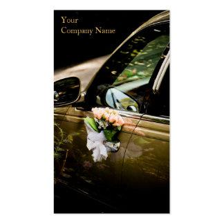 Coche del boda/Limo genéricos - tarjeta de visita