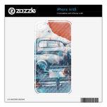 coche del Californian de 203Wheels aka Z Peugeot iPhone 4S Calcomanías