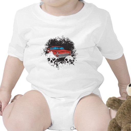 Coche del cráneo y del músculo traje de bebé