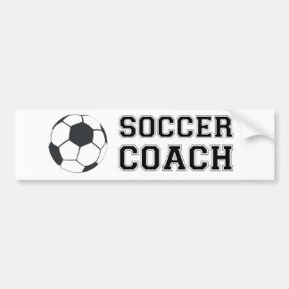 Coche del fútbol etiqueta de parachoque