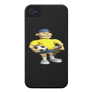 Coche del fútbol iPhone 4 Case-Mate protectores