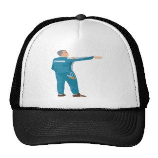 Coche del fútbol gorras de camionero
