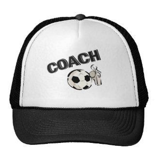 Coche del fútbol (silbido/bola) gorras
