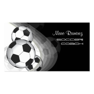 Coche del fútbol/tarjetas de visita de las mamáes