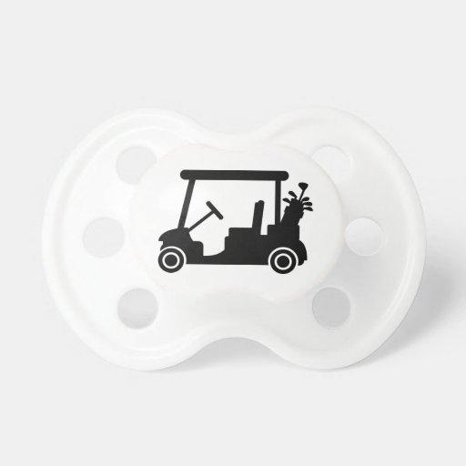 Coche del golf chupetes