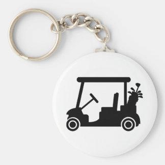 Coche del golf llaveros