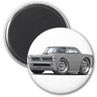 Coche del gris de 1965 GTO Imán Redondo 5 Cm