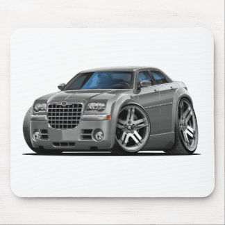 Coche del gris de Chrysler 300 Tapete De Ratones