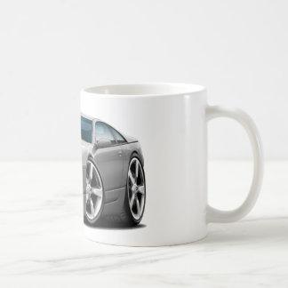 Coche del gris de Nissan 300ZX Tazas De Café