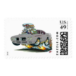 Coche del gris del juez de 1970 GTO Sellos