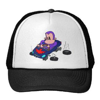 coche del mono gorros bordados