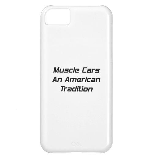 Coche del músculo una tradición americana
