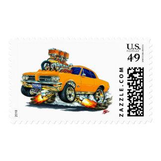 Coche del naranja de 1964 GTO Estampilla